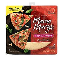 Mama Marys Pizza Crust Thin & Crispy Bag 2 Count - 16 Oz