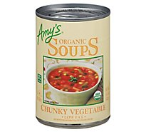 Amys Soups Organic Low Fat Chunky Vegetable - 14.3 Oz