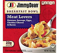 Jimmy Dean Breakfast Bowl Meat Lovers - 7 Oz