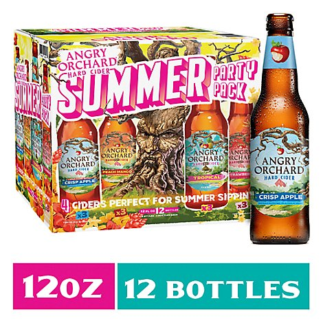Angry Orchard Hard Cider Variety Bottles - 12-12 Fl. Oz.