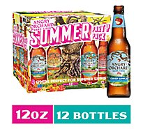 Angry Orchard Hard Cider Explorer Variety Pack Bottles - 12-12 Fl Oz.