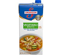 Swanson Broth Vegetable - 32 Oz