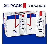 Michelob Ultra Beer Superior Light Slimcan - 24-12 Fl. Oz.