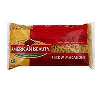 American Beauty Pasta Elbow Macaroni - 16 Oz