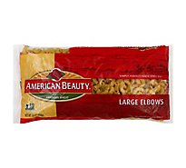 American Beauty Pasta Elbows Large - 16 Oz
