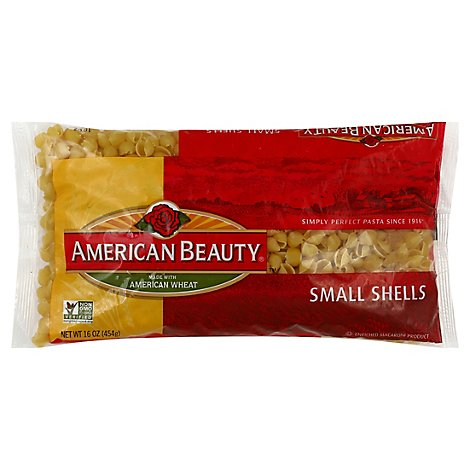 American Beauty Pasta Shells Small - 16 Oz