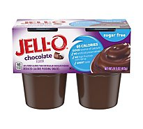 JELL-O Pudding Snacks Sugar Free Chocolate - 14.5 Oz