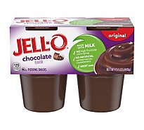JELL-O Pudding Snacks Original Chocolate - 15.5 Oz