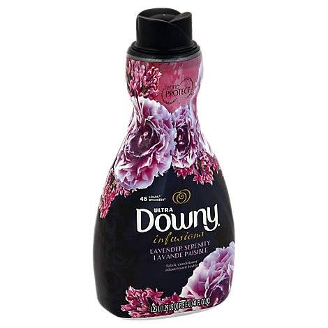 Downy Ultra Infusions Fabric Conditioner Lavender Serenity Bottle - 41 Fl. Oz.