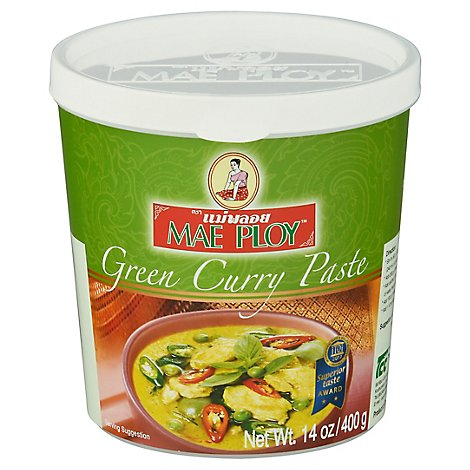 Mae Ploy Green Curry Paste - 14 Oz