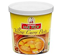 Mae Ploy Yellow Curry Paste - 14 Oz