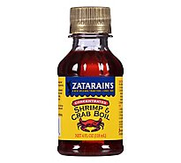Zatarains New Orleans Style Shrimp & Crab Boil Concentrated - 4 Fl. Oz.