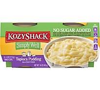 Kozy Shack Simply Well Pudding Tapioca - 16 Oz