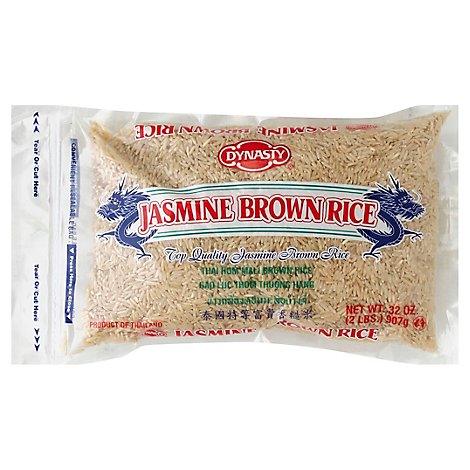 Dynasty Rice Brown Jasmine - 32 Oz