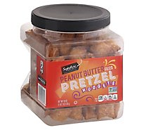 Signature SELECT Pretzels Filled Peanut Butter - 18 Oz