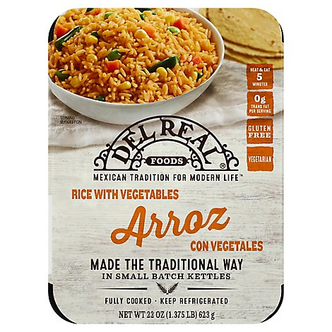 Del Real Mexican Rice - 24 Oz