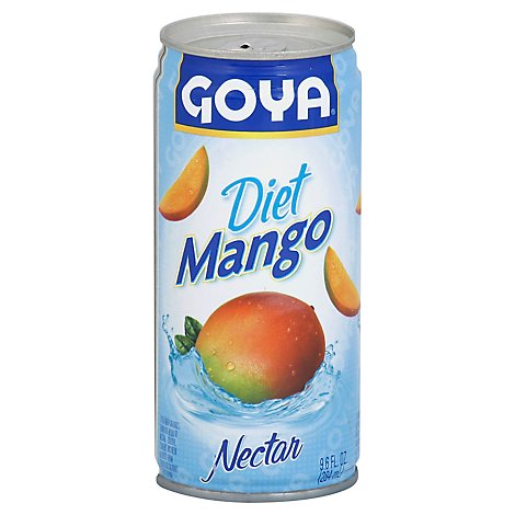 Goya Nectar Diet Mango Can - 9.6 Fl. Oz.