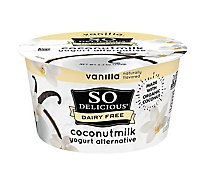 So Delicious Dairy Free Yogurt Alternative Coconutmilk Vanilla - 5.3 Oz