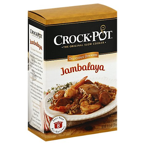Crock Pot Delicious Dinner Mixes Jambalaya Box - 10.75 Oz