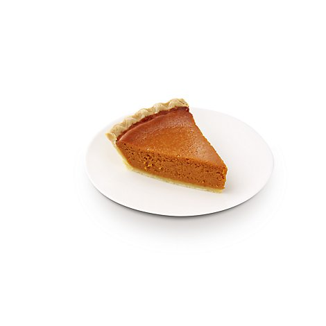 Bakery Pie Slice Pumpkin - Each (390 Cal)