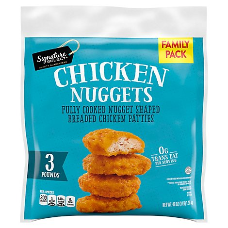 Signature SELECT Chicken Nuggets Frozen - 48 Oz