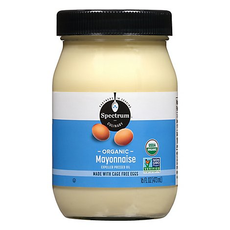 Spectrum Mayonnaise Organic - 16 Fl. Oz.