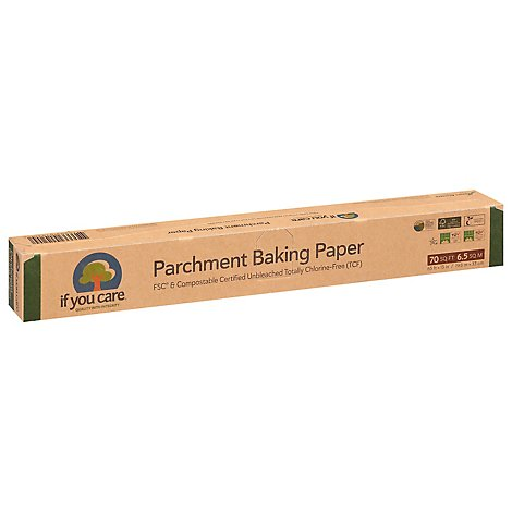 If You Care Parchment Baking Paper 13 Inch X 65 - 70 Sq