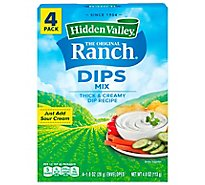 Hidden Valley The Original Ranch Dip Mix - 4-1 Oz
