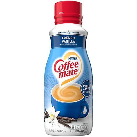 Coffeemate Coffee Creamer French Vanilla Pantry Pack - 16 Fl. Oz.