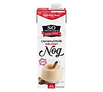 So Delicious Dairy Free Coconut Milk Holiday Nog - 32 Fl. Oz.