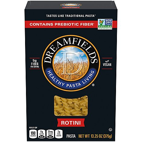 Dreamfields Pasta Rotini Box - 13.25 Oz