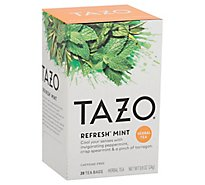 TAZO Tea Bags Herbal Tea Refresh Mint - 20 Count