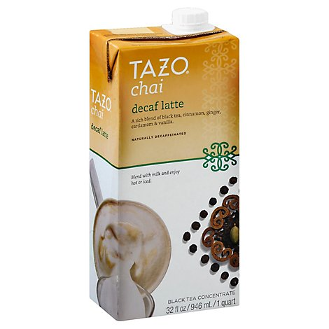 TAZO Black Tea Concentrate Cha - Online