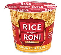 Rice-A-Roni Rice Creamy Four Cheese Flavor Cup - 2.25 Oz