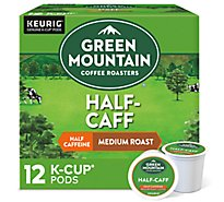 Green Mountain Coffee Coffee K-Cup Pods Medium Roast Half-Caff - 12-0.33 Oz