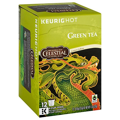 Celestial Seasonings Green Tea K-Cup Pods - 12 Count