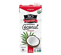 So Delicious Dairy Free Coconut Milk Organic Original - 32 Fl. Oz.