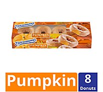 Entenmanns Donuts Pumpkin 8 Count - 16 Oz