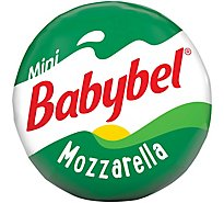 Mini Babybel Mozzarella Style Snack Cheese 10 Pack 7.5 oz