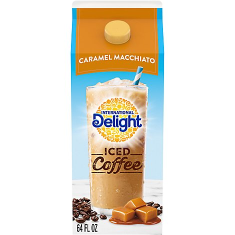 International Delight Coffee Iced Caramel Macchiato - 0.5 Gallon.