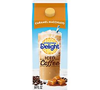 INTERNATIONAL Delight Ice Coffee Sweet & Creamy Caramel Macciato - 64 Fl. Oz.