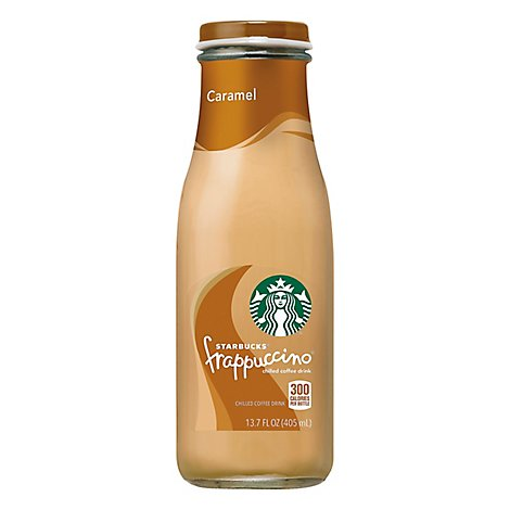 Starbucks frappuccino Coffee Drink Chilled Caramel - 13.7 Fl. Oz.