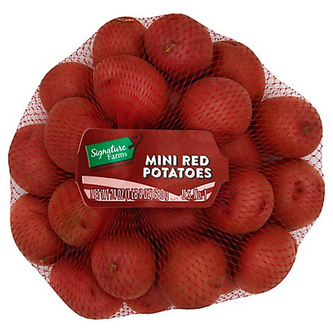 Signature Farms Baby Mini Red Potatoes - 1.5 Lb