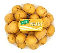 Signature Farms Potatoes Baby Gold Mini - 1.5 Lb