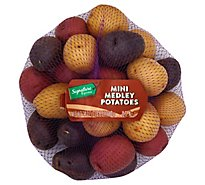 Signature Farms Baby Mini Multi Color Potatoes - 1.5 Lb