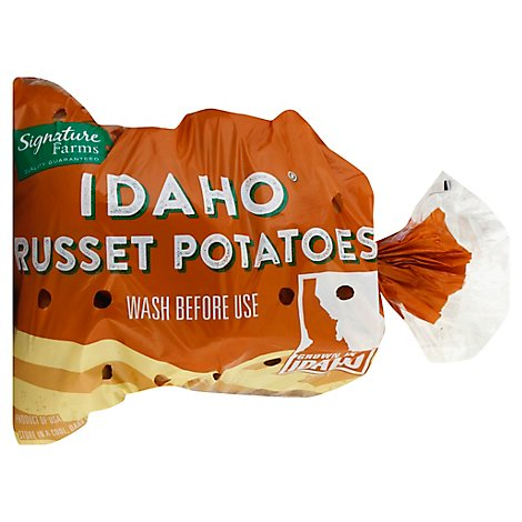 Signature Farms Idaho Russet Potatoes - 5 Lb