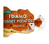 Signature Farms Potatoes Russet Idaho - 5 Lb