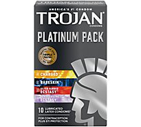 Trojan Condoms Platinum - 10 Count