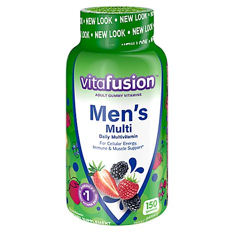 VitaFusion Vitamins Gummy Multivitamins Mens Daily Formula - 150 Count