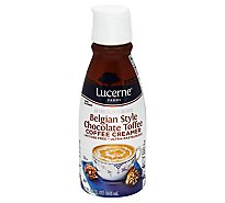 Lucerne Coffee Creamer Belgian Chocolate Toffee - 32 Fl. Oz.